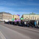 Bilder från helgens demonstrationer