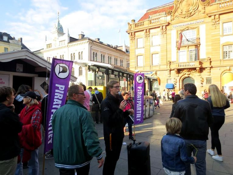 Vi söker dig som vill leda och organisera Piratpartiets kampanj inför EU-valet 2019