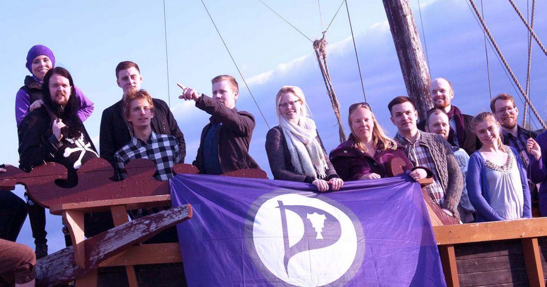 Piratpartiet dubblar sitt stöd i Reykjavik