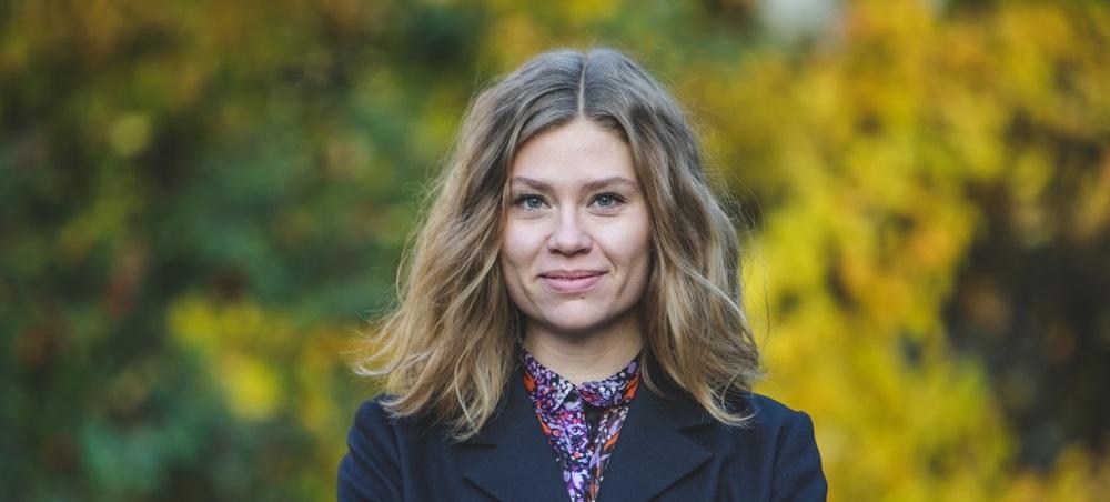 Katarina Stensson föreläser om makt, demokrati och internet