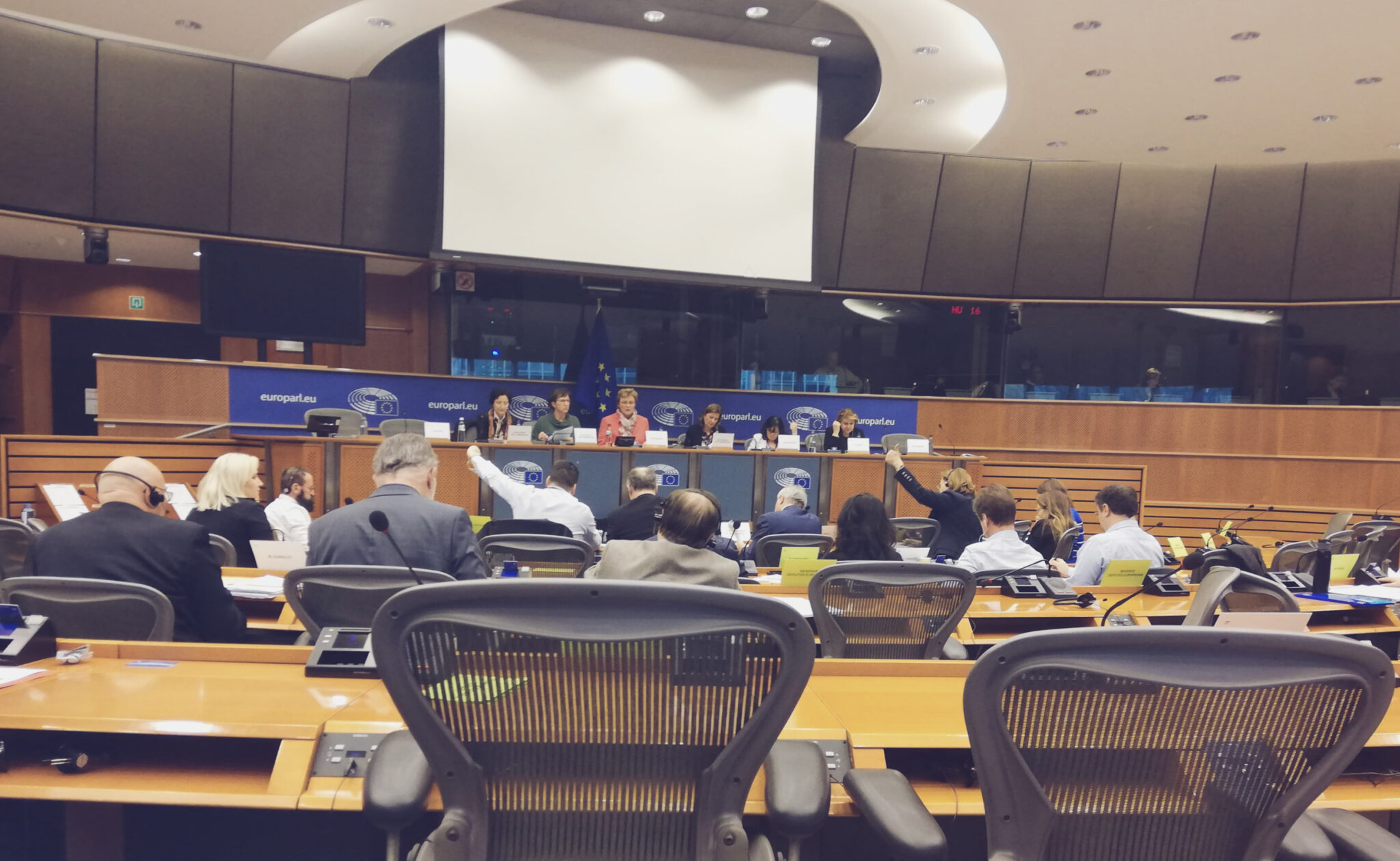 Piraterna i parlamentet om EU:s nya långtidsbudget